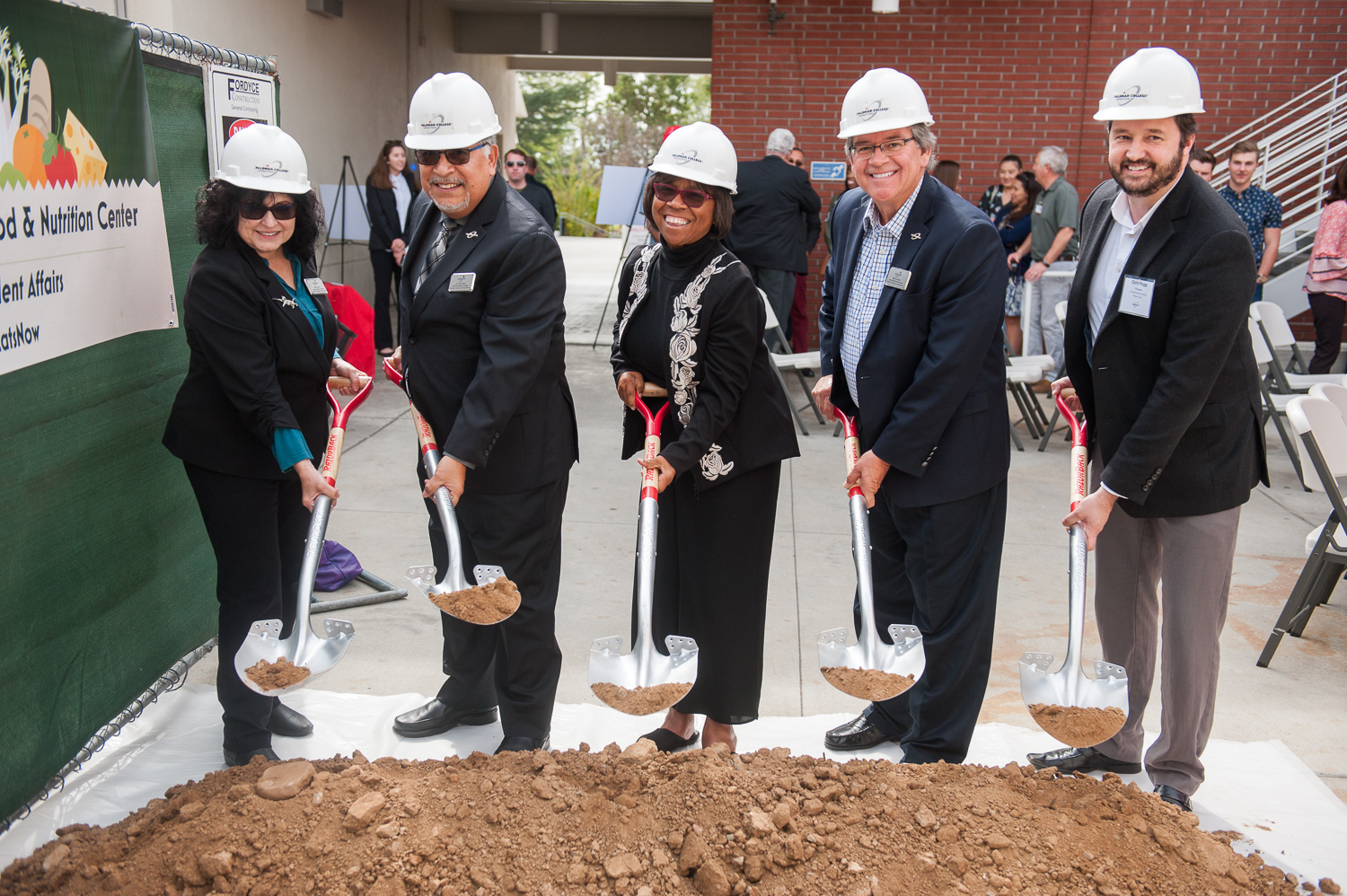 Palomar Breaks Ground on Anita and Stan Maag Food & Nutrition Center