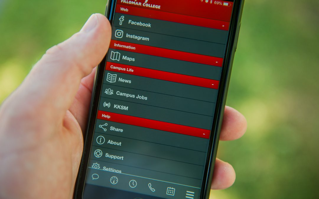 Life at Palomar College: an app for that