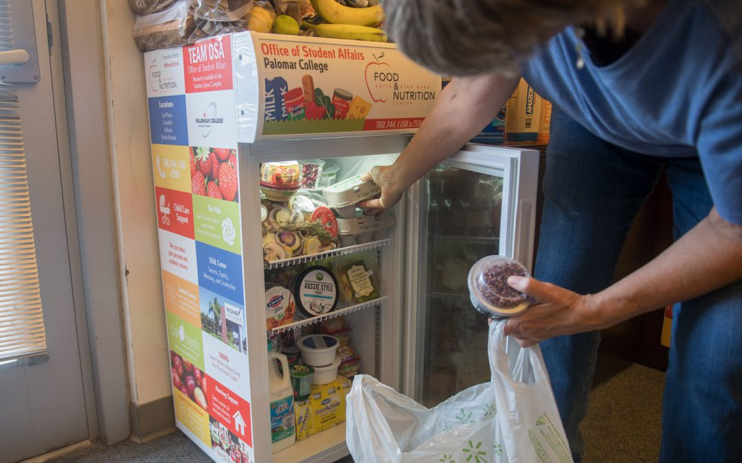 Mini refrigerators deployed across campus with snacks, water for students