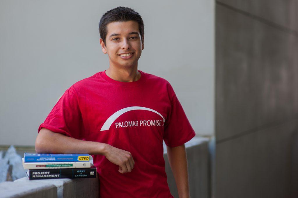 Palomar Promise student