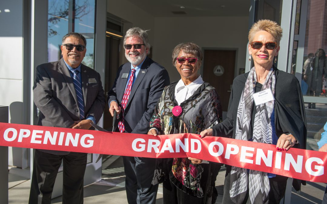 Palomar Opens New Police Building with Ribbon-Cutting Ceremony