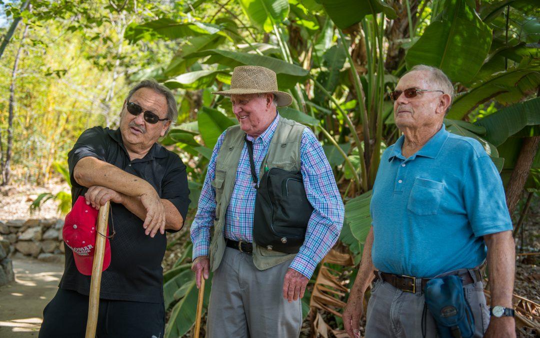 Arboretum originals revisit the site of their shared vision