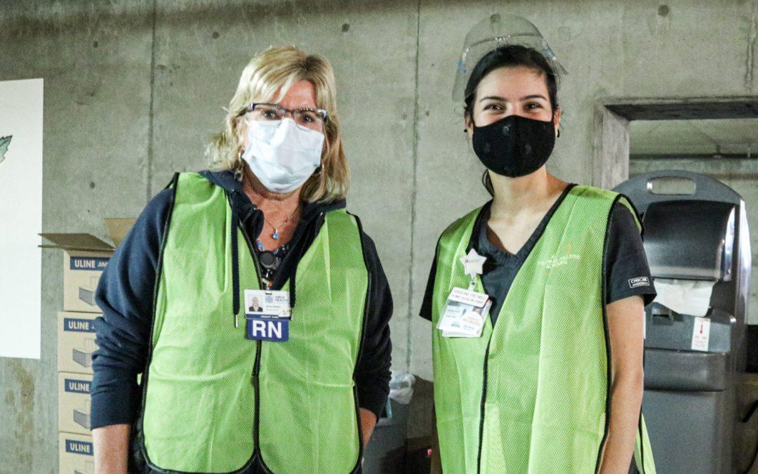 Palomar Nursing Students Assist in Vaccination Effort
