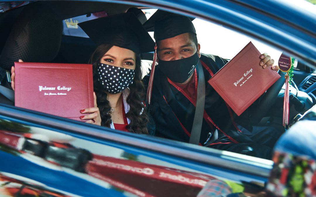 Palomar College Hosts Drive-Through Commencement Ceremony