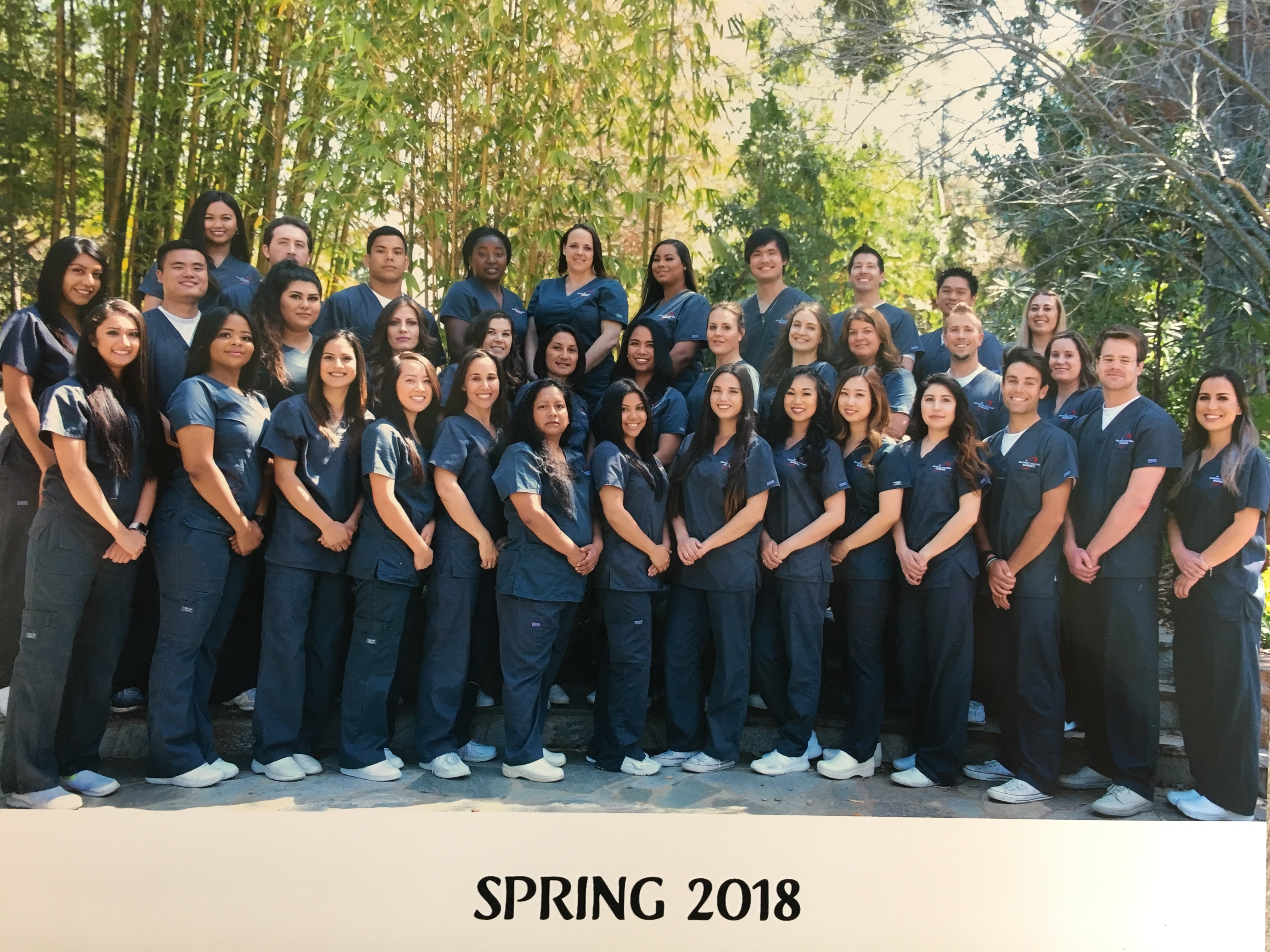 nursing class of spring 2018