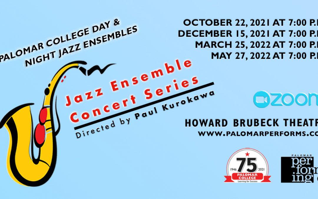 Jazz Ensemble Concert Series October 22 Show Program for Devices