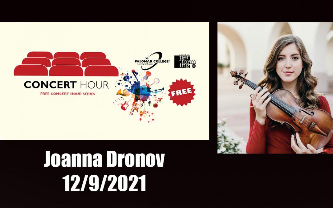 Joanna Dronov – Concert Hour