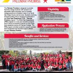 image of FYE Palomar Promise 2019-2020 flyer