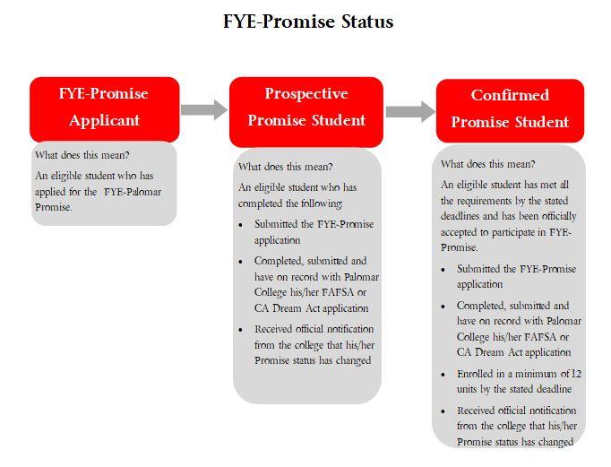 image explaning the Promise status udpates