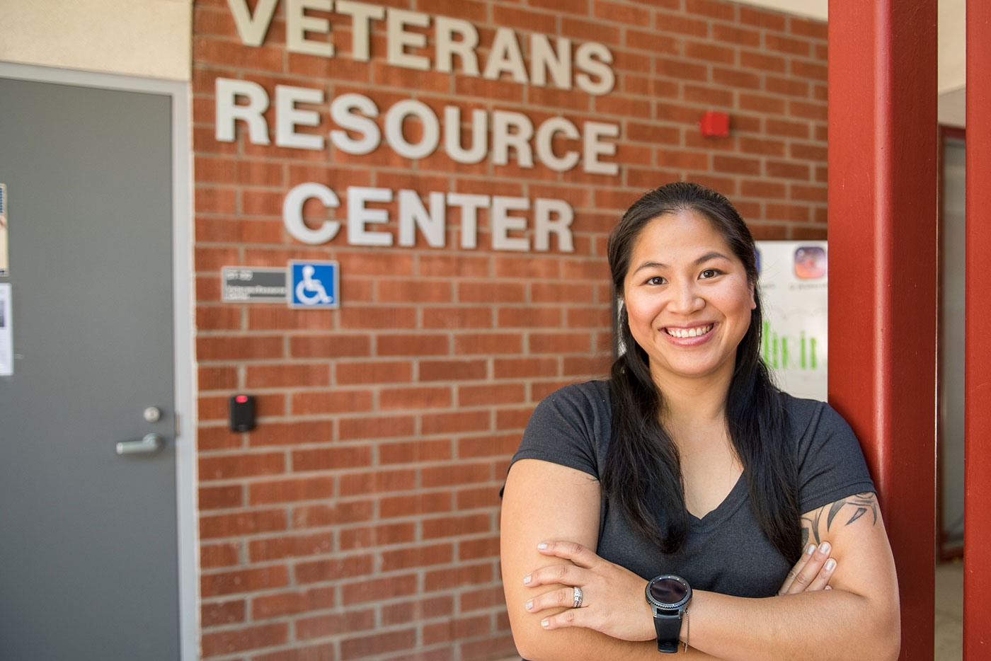 Lydia Keaty at Veterans Resource Center