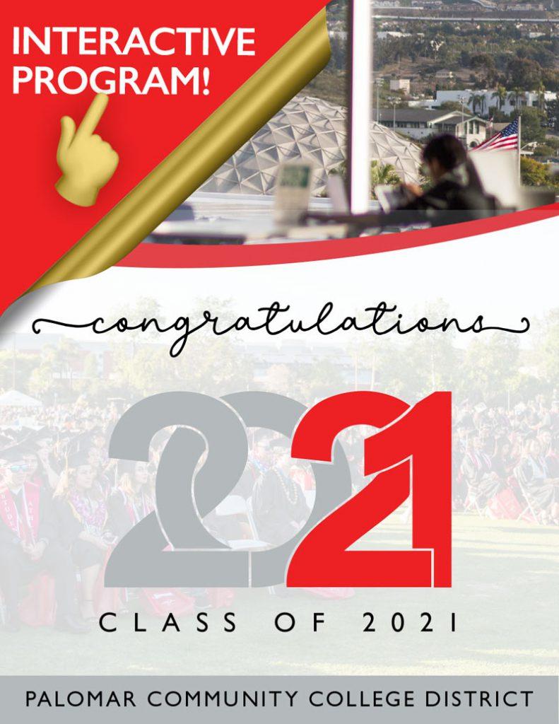 Interactive Program - Congratulations Class of 2021 - Palomar Community College District