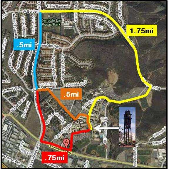 route 3 mile