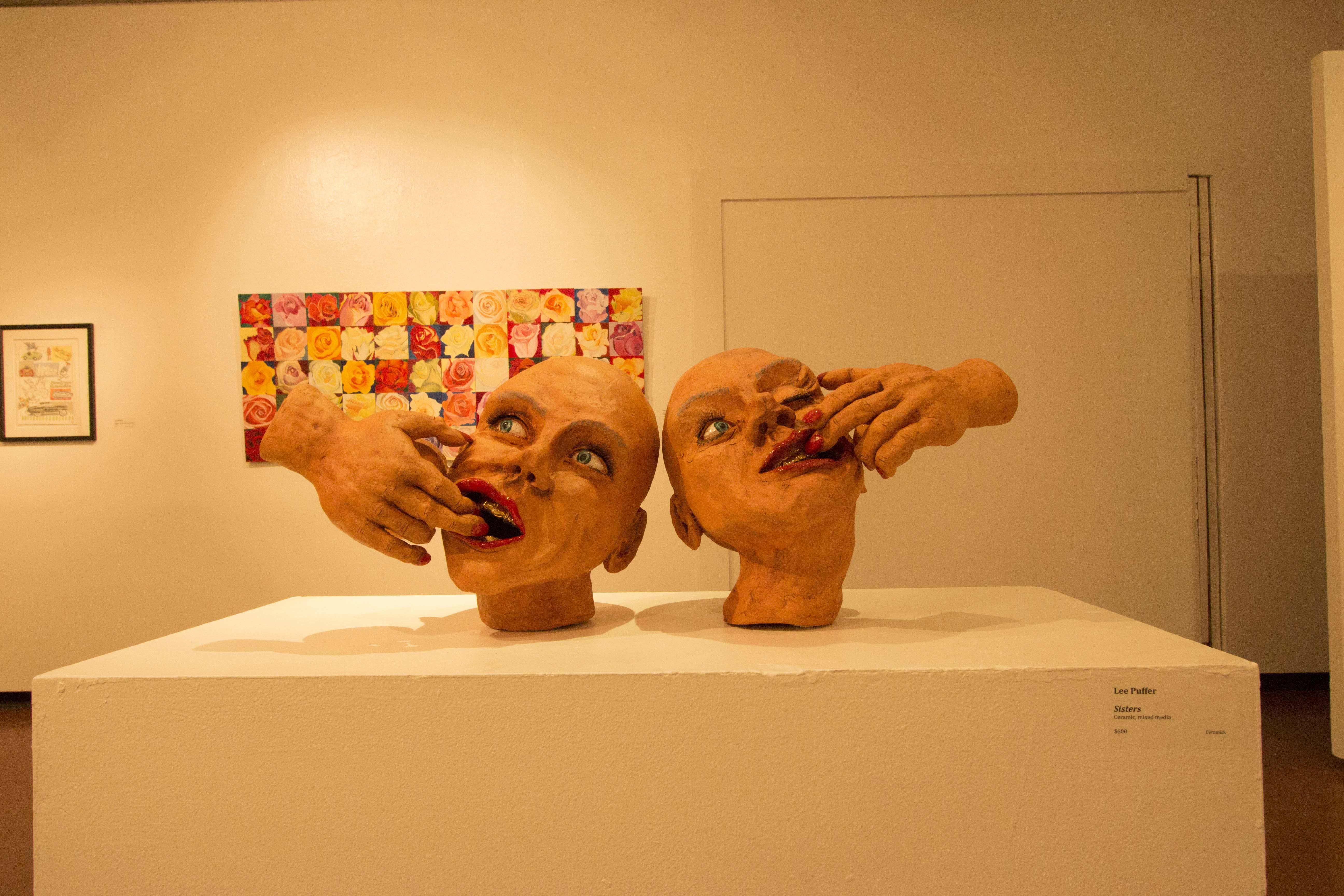 Dec. 3, 2014, San Marcos, Calif. Teacher art show at the Boehm Gallery. Paul Nelson/The Telescope