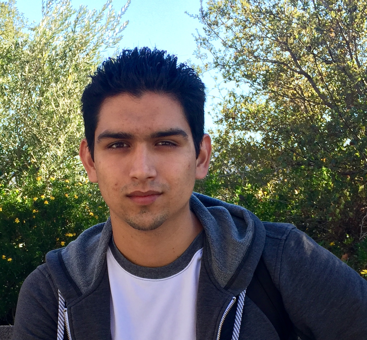 """Taking programming classes down at UCSD and hanging out with my family and friends."" EDUARDO REYES, COMPUTER SCIENCE MAJOR"
