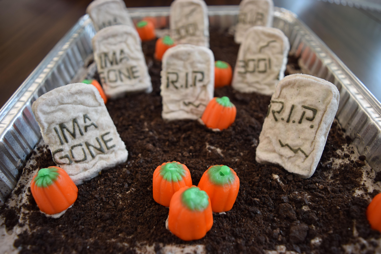 Halloween Graveyard Dessert Michelle Wilkinson/The Telescope