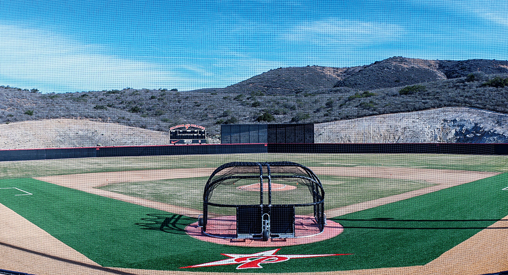 Palomar College's new baseball field on Dec. 3. Philip Farry/The Telescope