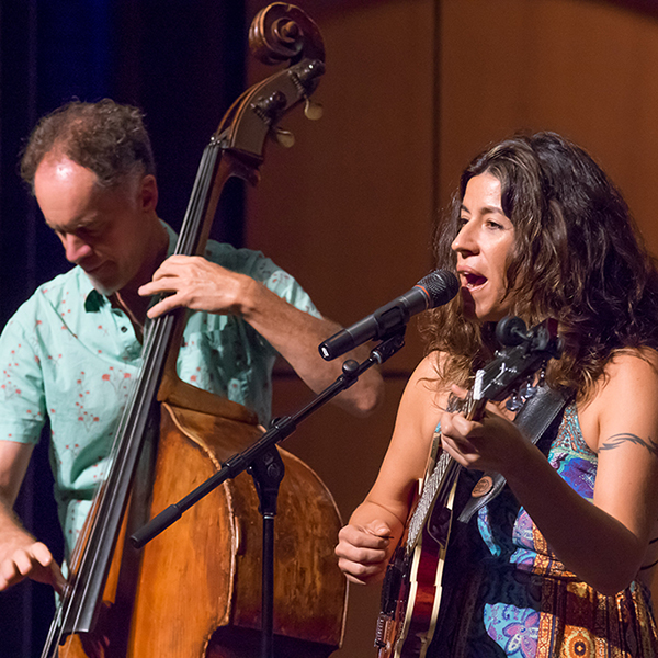The Steph Johnson Trio performed a free jazz concert at the Palomar College Howard Brubeck Theatre on Thursday, September 29, 2016. The trio features Steph Johnson on guitar and vocals, Rob Thorsen on bass and Fernando Gomez on drums. This was one of the Fall 2016 Thursday Concert Hours presented by Palomar. Joe Dusel / The Telescope.