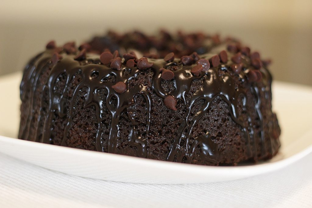 Chocolate cake. Taylor Hardey / The Telescope