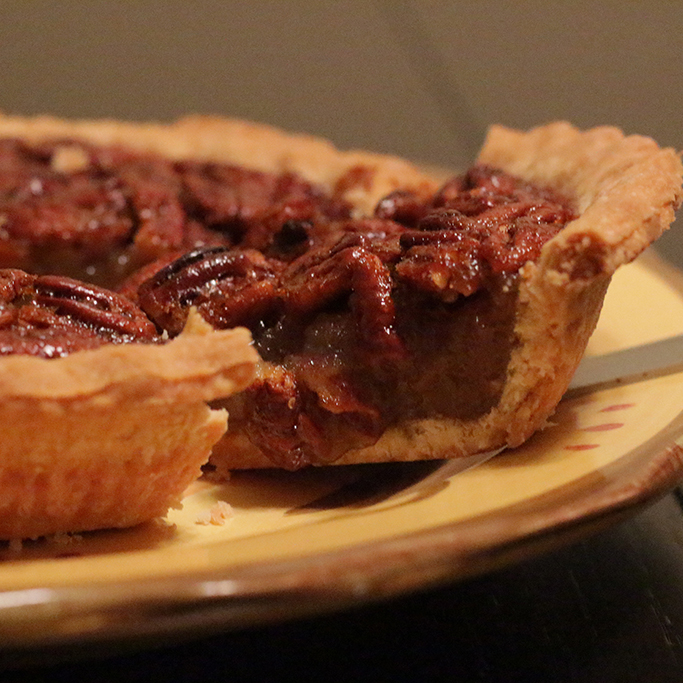 Pecan pie. Taylor Hardey / The Telescope
