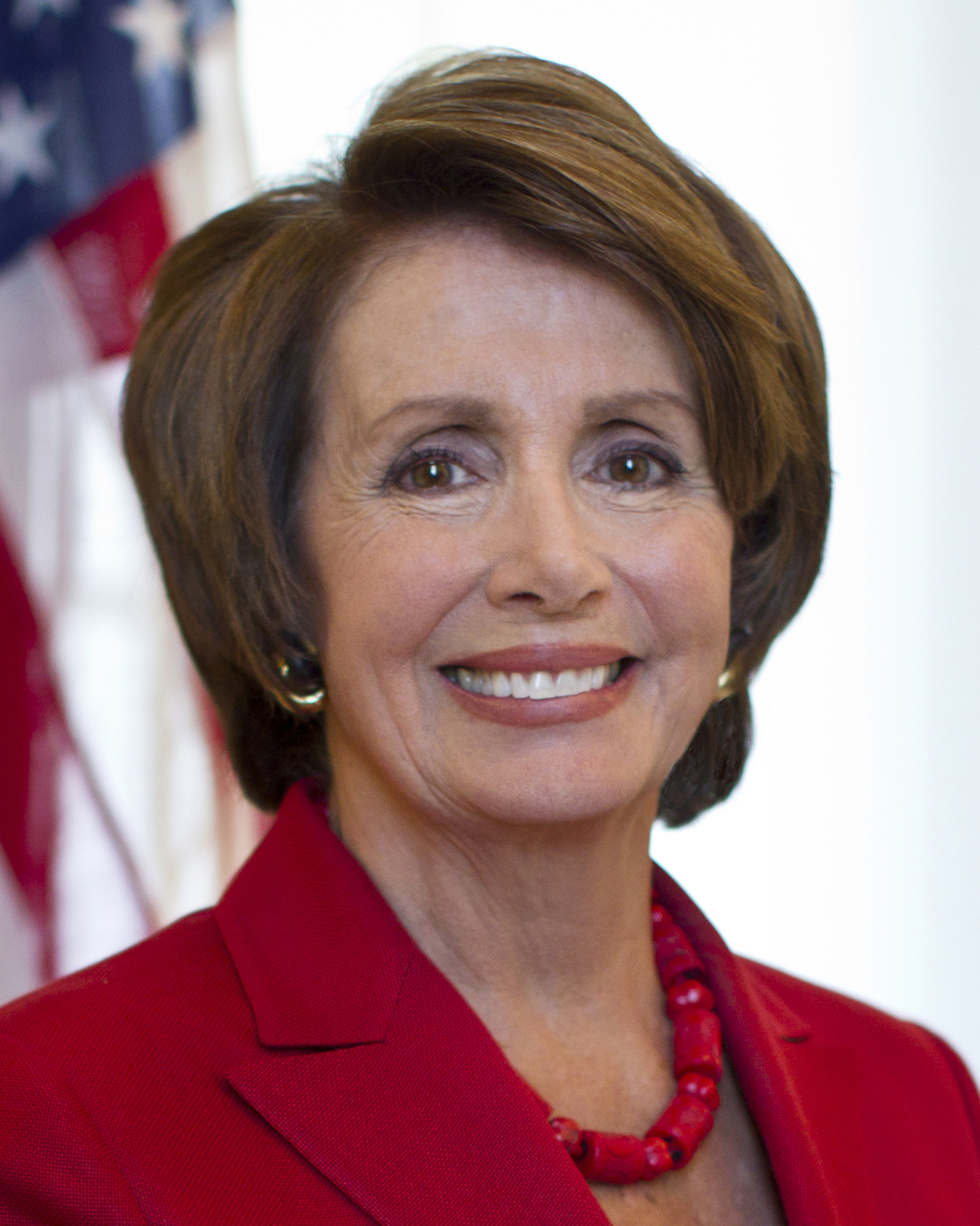 Nancy Pelosi portrait for then Speaker of the House 2012. Courtesy of Wikipedia Commons