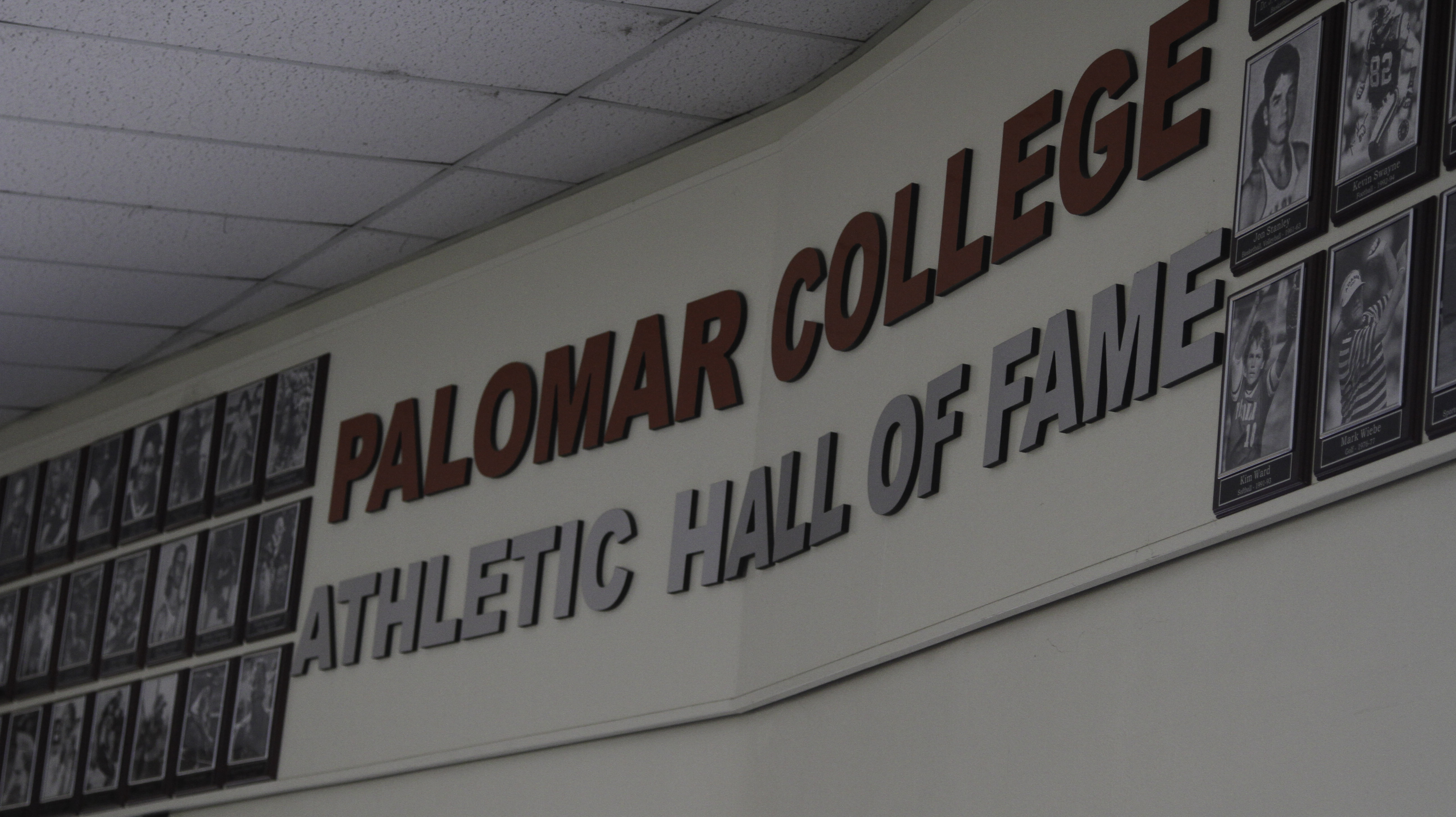 Palomar athletic Hall of fame