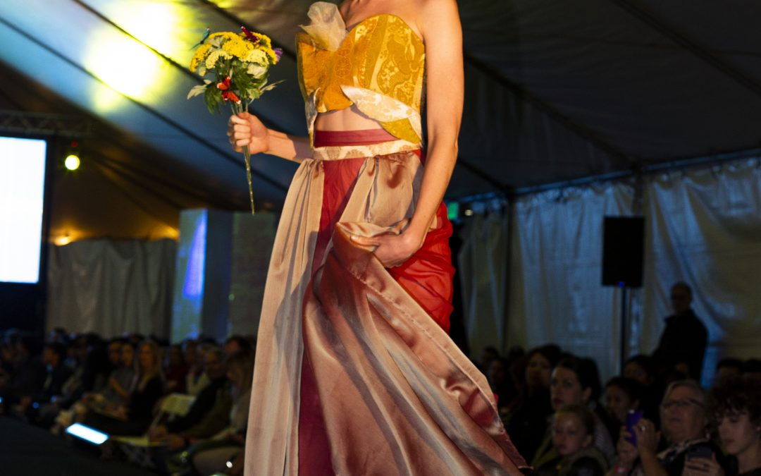 MODA fashion show: lace, catwalk, and tulle, oh my!