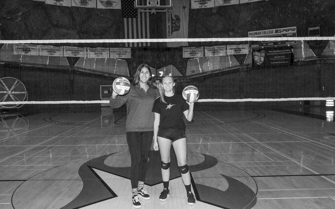 Beach volleyball duo reaches regionals
