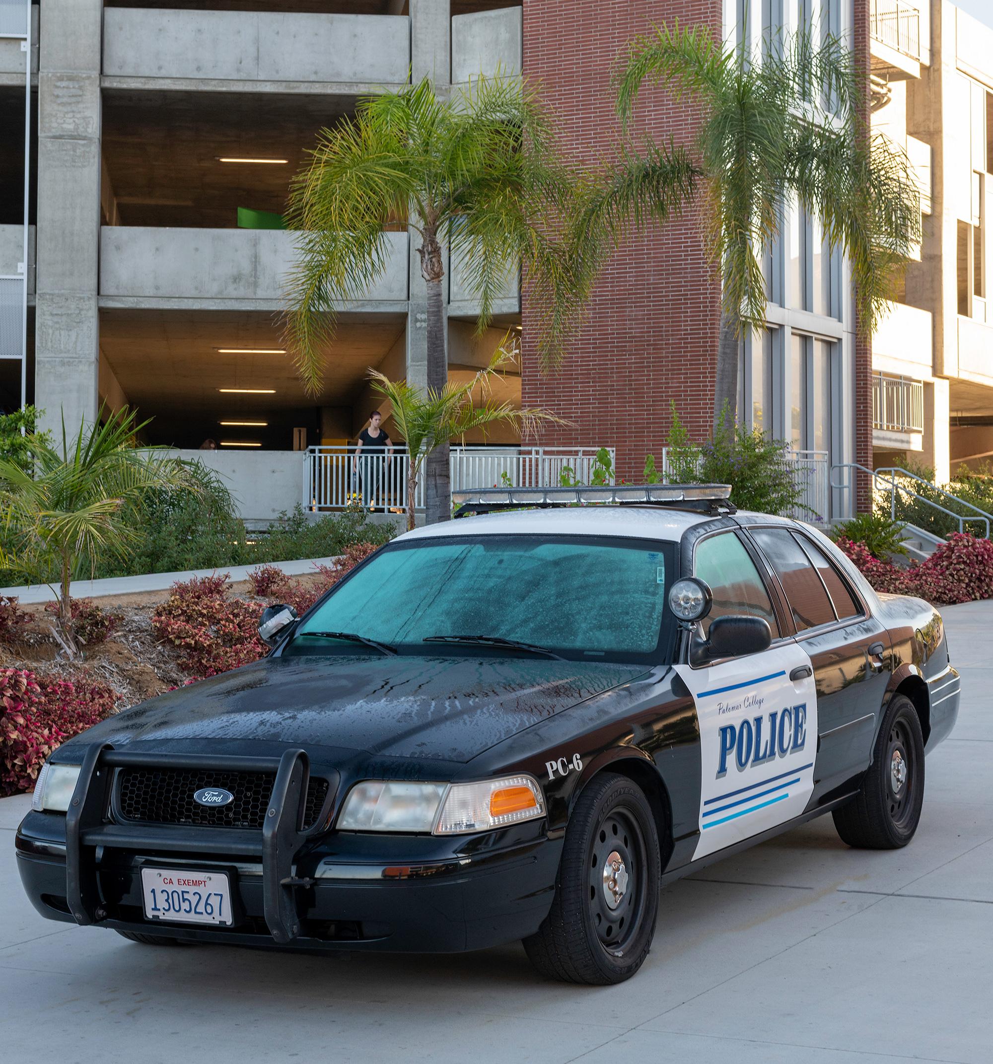 Palomar Police Car