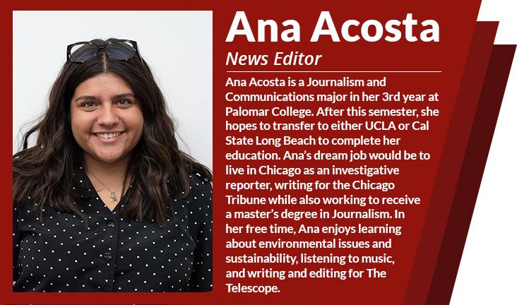 News Editor Ana Acosta
