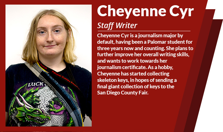 Staff writer Cheyenne Cyr