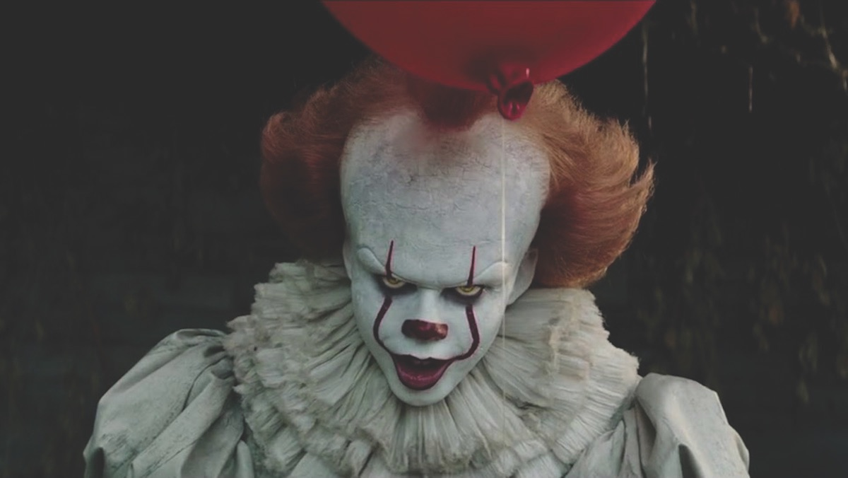 Pennywise played by Bill Skarsgard