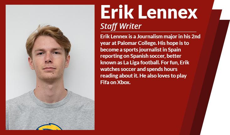 staff writer Erik lennex