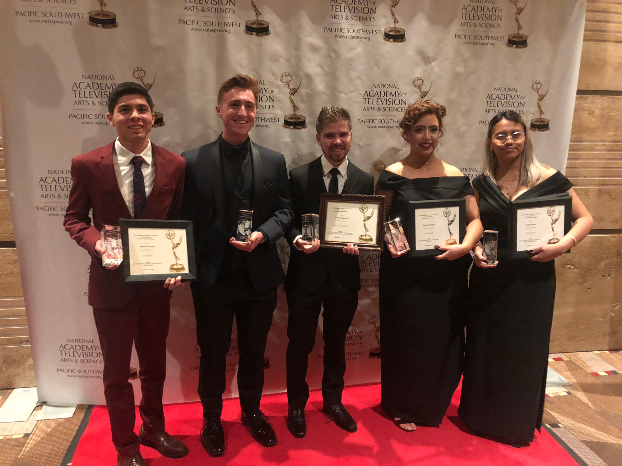 student awarded emmys