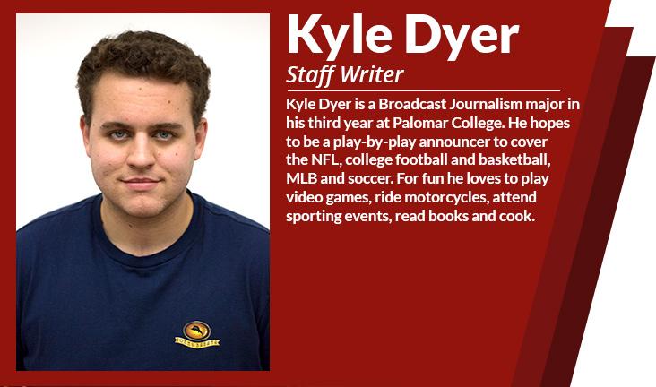 staff writer Kyle dyer