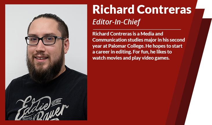 Editor in chief Richard contreras