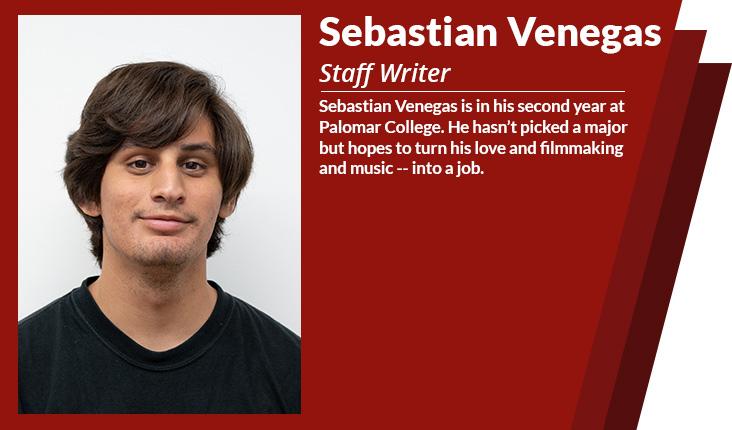staff writer Sebastian venegas