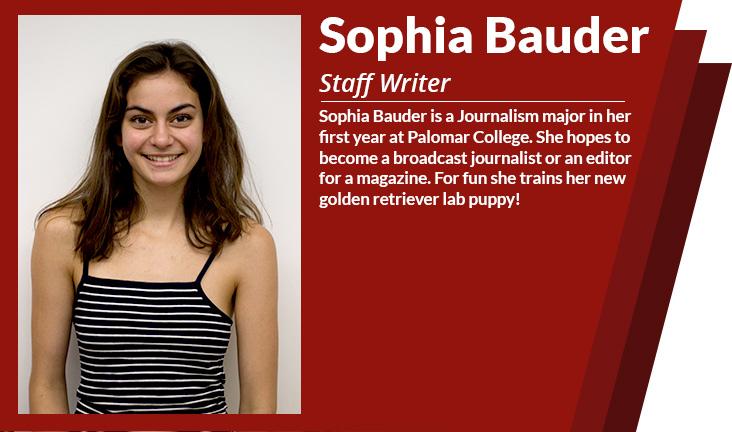 staff writer Sophia bauder