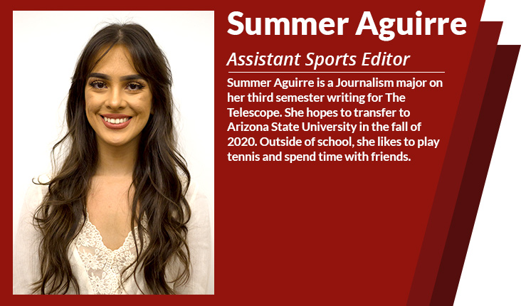 assistant sports editor summer Aguirre