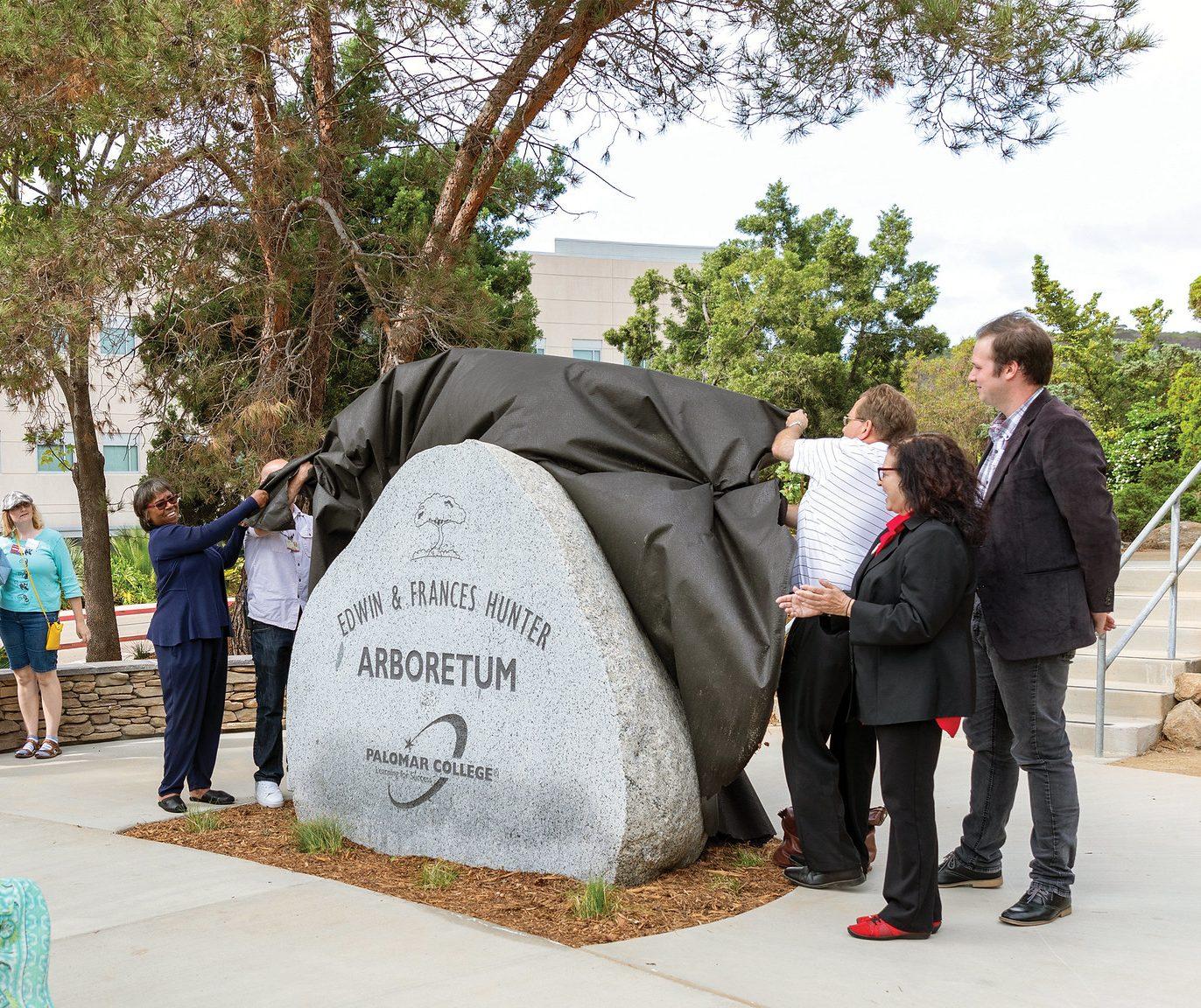 arboretum naming stone