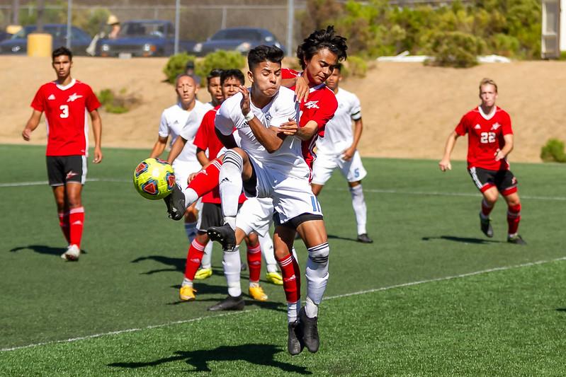 Men's Soccer Ties Cuayamaca 1-1