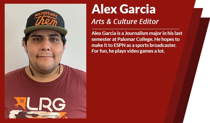 arts and culture editor Alex garcia