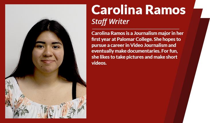 staff writer Carolina Ramos