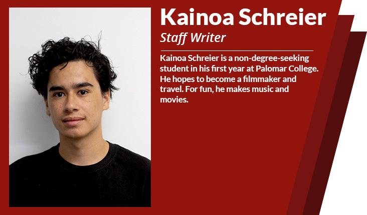 staff writer kainoa schreier