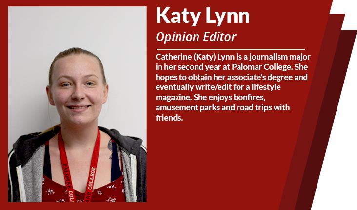 opinion editor Katy Lynn