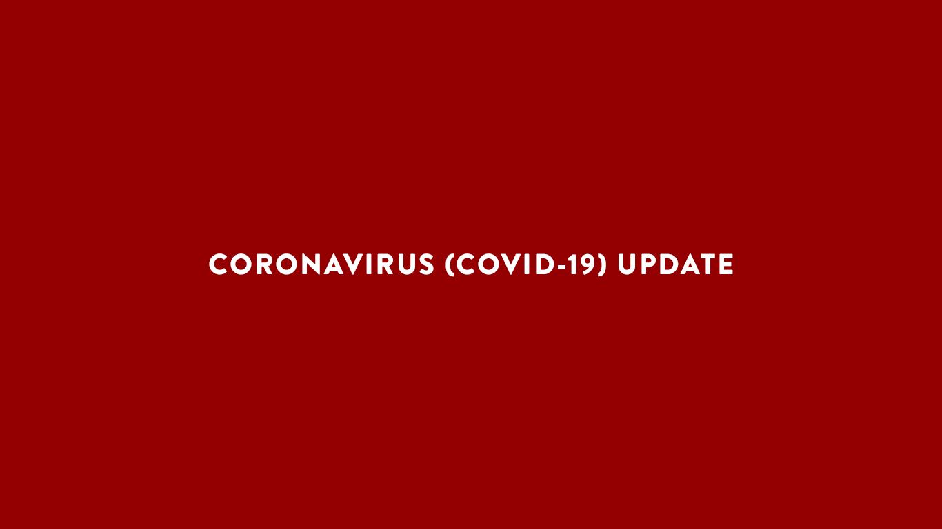 coronavirus update header
