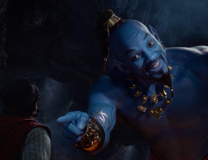 Disney remake Aladdin 2019 genie