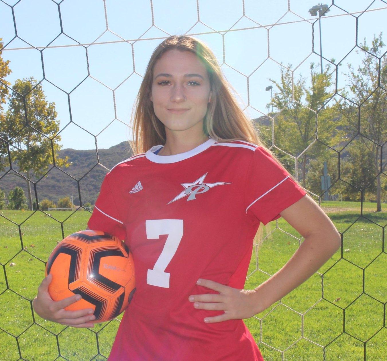 Comet Women's Soccer player Alyssa Jackson.