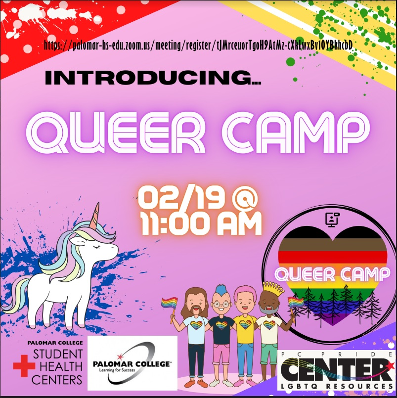 queer camp palomar college