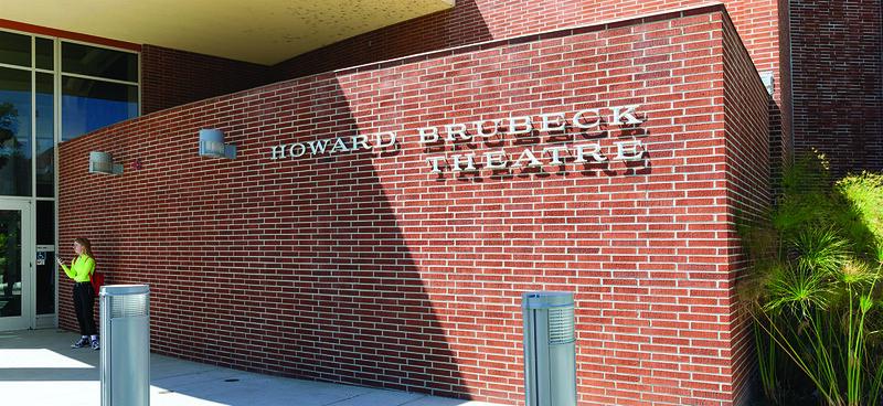 Palomar College Performing Arts Building, Howard Brubeck Theatre, East Entrance