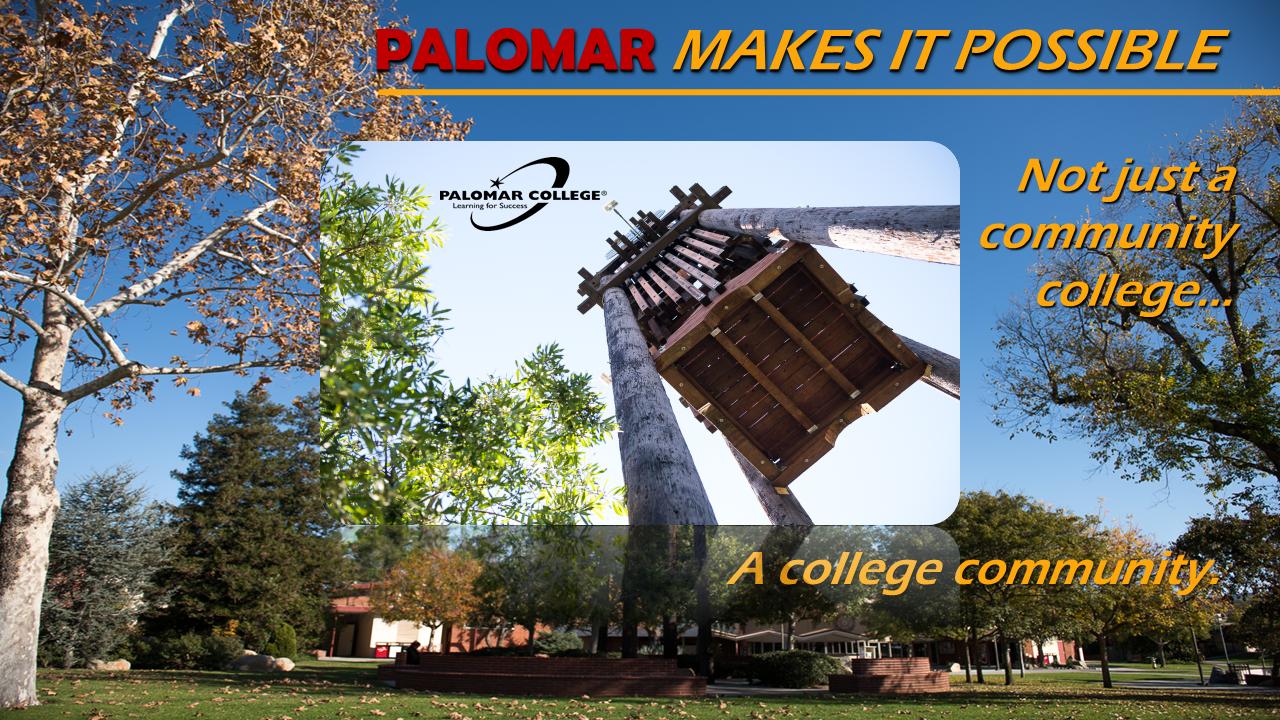 Opening slide of virtual campus tour